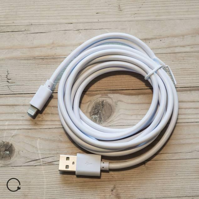 Lightning kabel (iPhone 5,5c,5s og iPad 4/mini)
