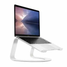 Twelve South Curve för MacBook, Vitt | Skrivbordsstativ för bärbara Apple-datorer