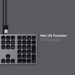 Satechi tangetbord med USB anslutning - Nordisk Layout