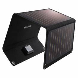 RAVPower Powerport Solar Panel 21W 2-portar svart