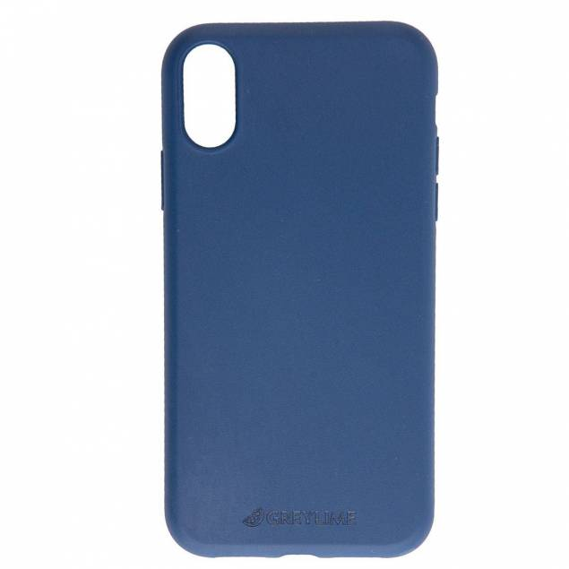 iPhone X/Xs biodegradable cover GreyLime