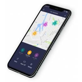 COBBLESTONE GPS tracker m. 4 års batteri og med mobilnet