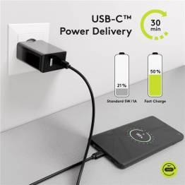 Goobay USB-C 3.2 kabel 100W PD -bedste USB-C Kabel