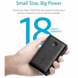 Anker PowerCore Select 10.000 mAh powerbank