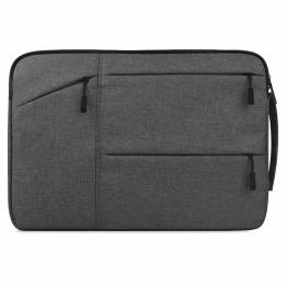 "Macbook 13"" sleeve London style med strap"