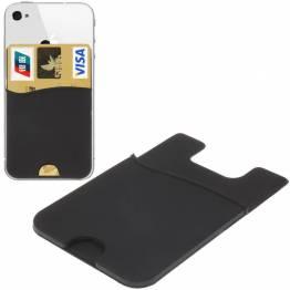 Smart plånbok silikon korthållare