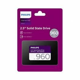 """Intern 2,5"""" SSD harddisk Philips 960GB Ultra SATA III"""