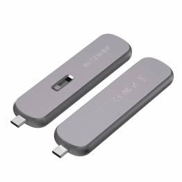 M. 2 SSD-hårddiskhållare med USB-C 3,1 BlitzWolf