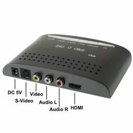 HDMI till RCA Composite Video & S-Video Converter