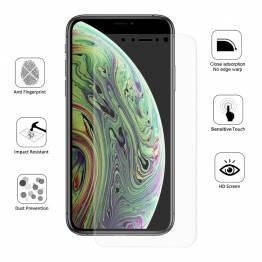 Skyddande glas för iPhone X för och bakom