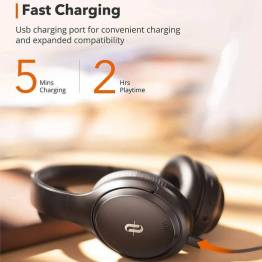 TaoTronics SoundSurge 46 ANC trådlös brusreducering headset