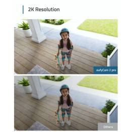 Anker EufyCam 2 pro (3x kamera) med homekit