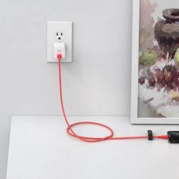 Aukey braided USB-C to MFi Lightning 2m cable