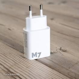 M7 iPhone/iPad USB-laddare USB og USB-C 20W
