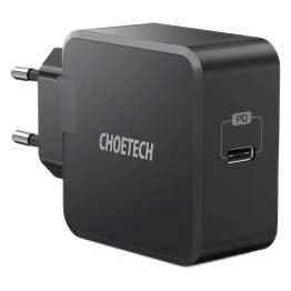 Choetech 30W USB-C PD Vægoplader, black