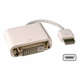 Micro DVI til VGA DVI Apple