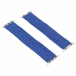 Apple Watch flätat band 42/44 mm - blått