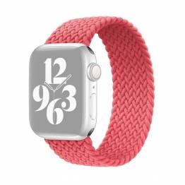 Apple Watch flätat band 42/44 mm - Small - rosa