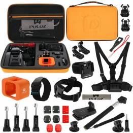 GoPro kit med 29 dele
