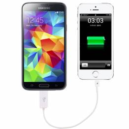 Micro USB (5pin) til Lightning (8pin)