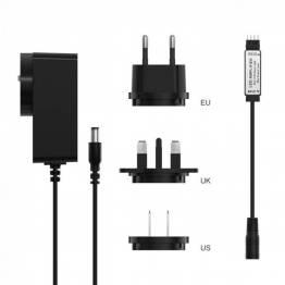 Sonoff LED -amplifier med EU + UK + US -kontakt