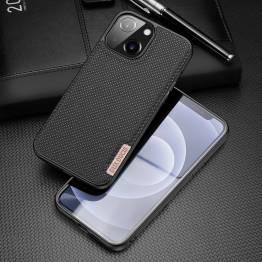 "DUX DUCIS Fino iPhone 13 mini 5,4"" skal med vävd yta - svart"