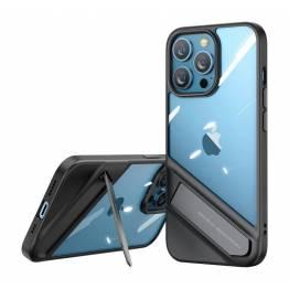 "Ugreen Fusion iPhone 13 Pro Max 6,7"" skal med kickstand - transparent"
