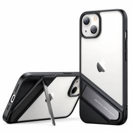 """Ugreen Fusion iPhone 13 6,1"""" skal med kickstand - transparent"""