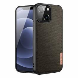 """DUX DUCIS Fino iPhone 13 mini 5,4"""" skal med vävd yta - grön"""