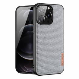 """DUX DUCIS Fino iPhone 13 Pro 6,1"""" skal med vävd yta - grå"""
