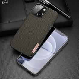 "DUX DUCIS Fino iPhone 13 6,1"" skal med vävd yta - grön"