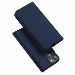 """DUX DUCIS iPhone 13 6,1"""" skal med kortplats och flik - blå"""