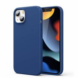 """Ugreen iPhone 13 6.1"""" skyddande silikonskal - blå"""