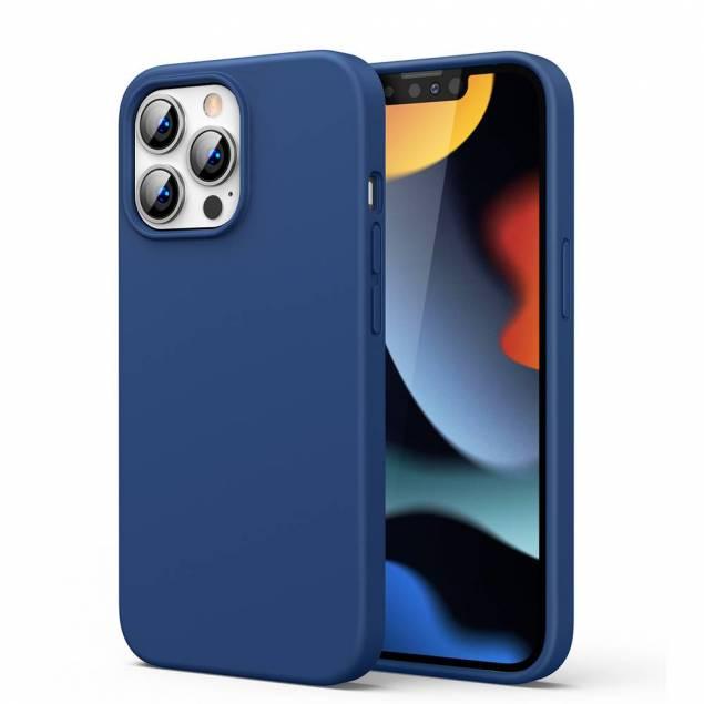 """Ugreen iPhone 13 Pro Max 6.7"""" skyddande silikonskal - blå"""