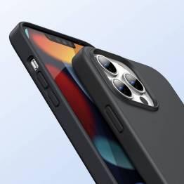 "Ugreen iPhone 13 Pro Max 6.7"" skyddande silikonskal - svart"