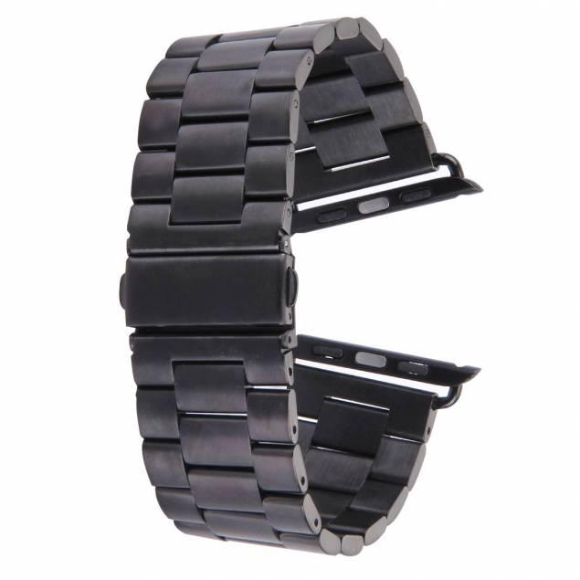 Apple Watch metallrem 42/44/45 mm - svart