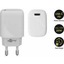 Goobay USB oplader med PD og 18W