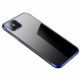 Clear Color skal till iPhone 12 mini - blå