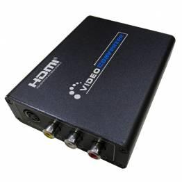 HDMI till AV + S-Video Converter