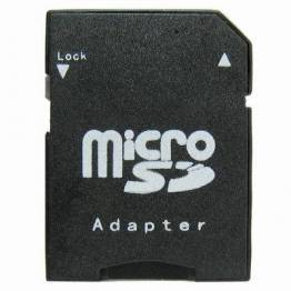 Micro SD til SD kort adapter