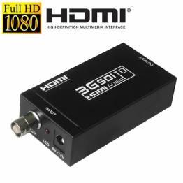 MINI 3G SDI till HDMI aktiv Omformaren adaptern