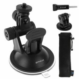 PULUZ sugkopp fäste för GoPro 360 grader med Quick Release