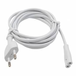 Apple Mac mini strömkabel i vitt (eller till flygplatsen)