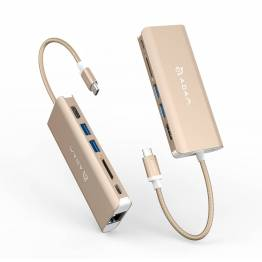 Adam Elements CASA A01 USB-C-hubb