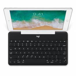 Logitech Keys-to-Go Ultra Slim-tastatur med iPhone/iPad-holder