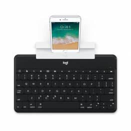 Logitech Keys-to-go Ultra Slim-tangentbord med iPhone/iPad-stativ