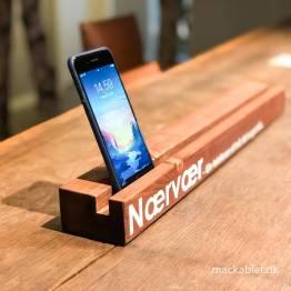 mystack Mobilskinne Nærvær – Giv telefonen et hvil, det er god stil