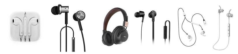 Headsets til iPhone/iPad/iPod